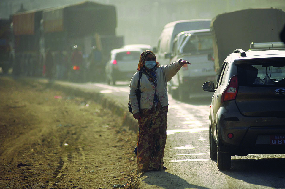 Rising threat of pollution