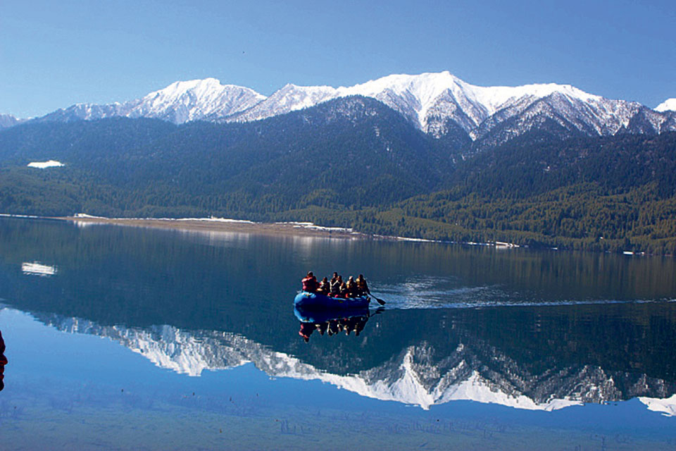 Over 15,000 visited Rara Lake in a year