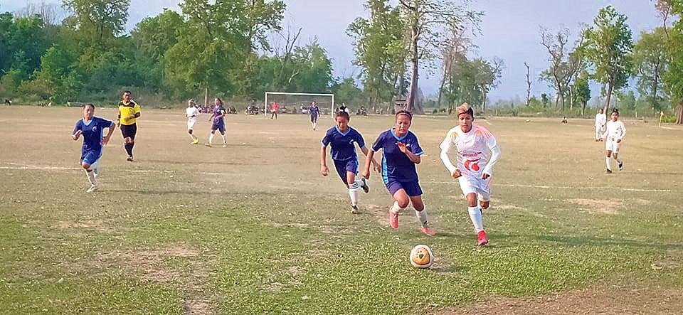 Province 3 registers second win in women's football