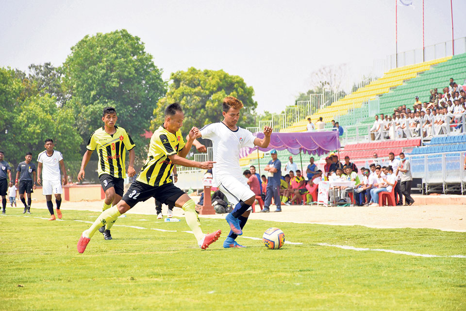 Army reaches finals of football in both categories