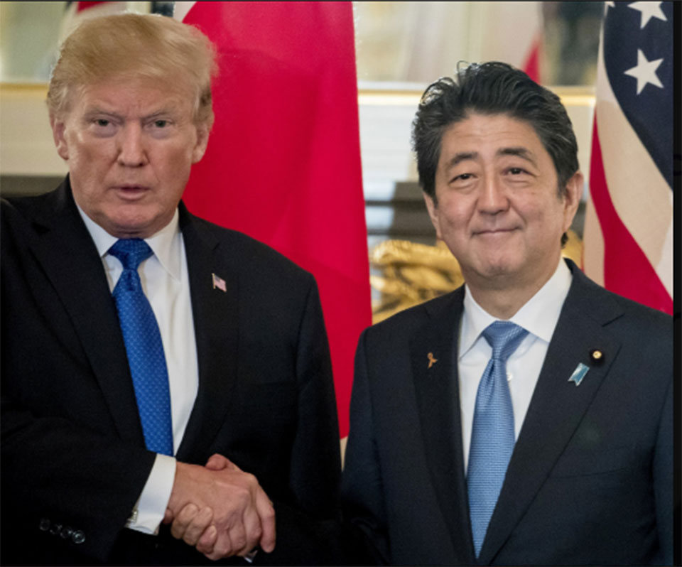 President Trump to visit Japan in late May, meet new emperor