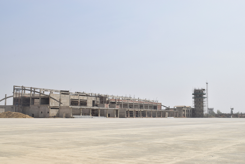 With runway blacktopped, Lumbini moves closer to opening a new int'l airport