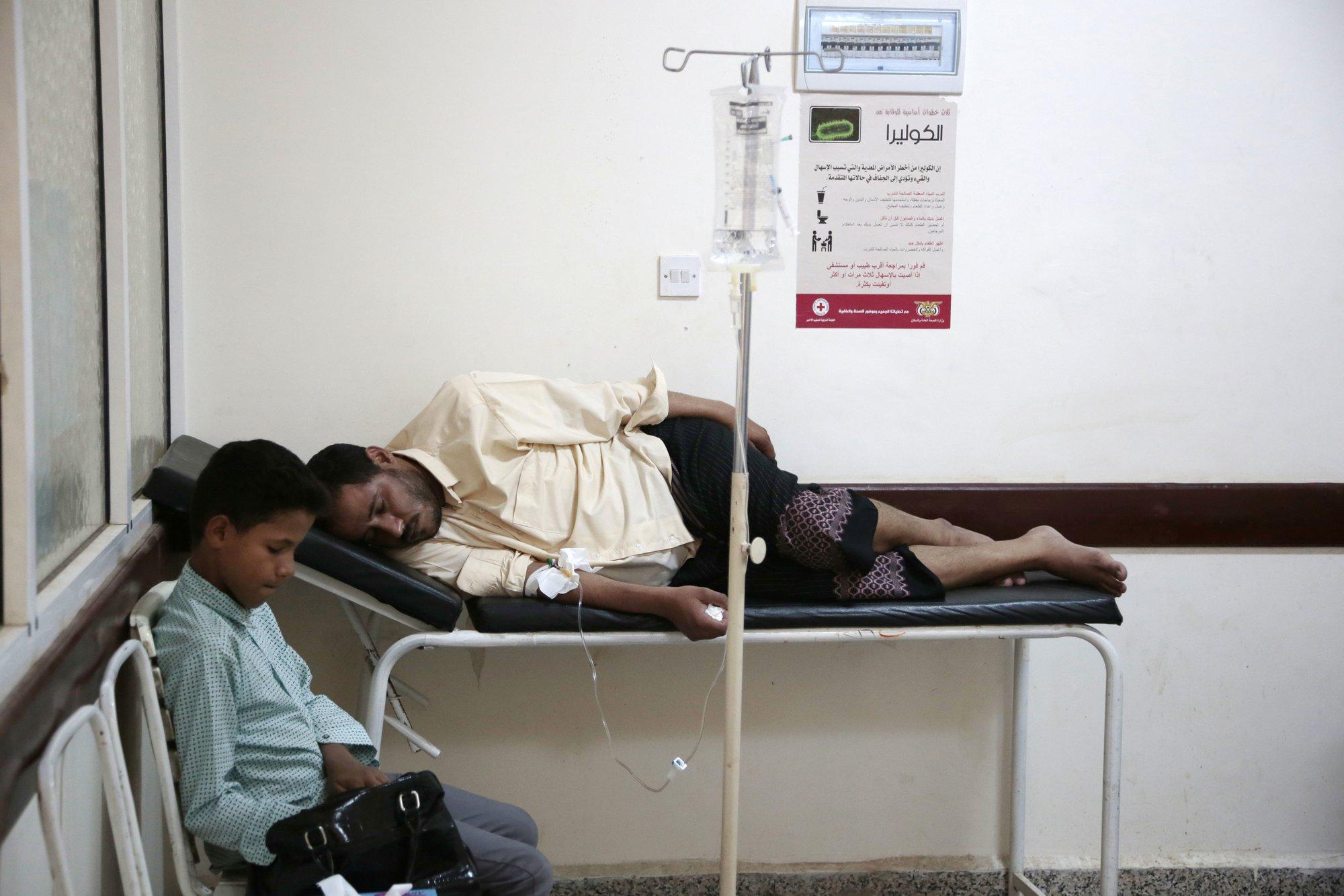 Vaccines blocked as deadly cholera raged across Yemen