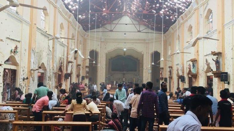 Explosions hit 2 churches in Sri Lanka on Easter Sunday