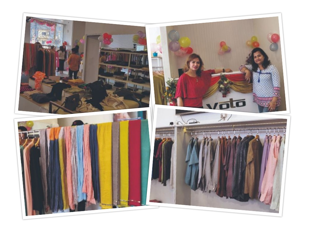 Two women entrepreneurs launch handmade-garments brand Voto