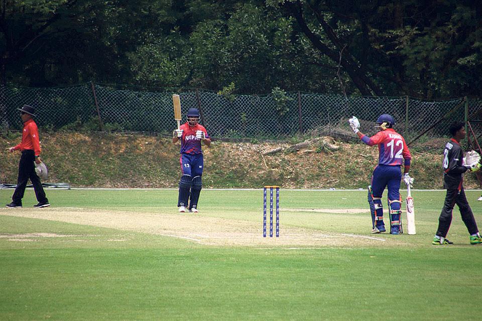 1-run loss, a big dent in Nepal's qualification bid