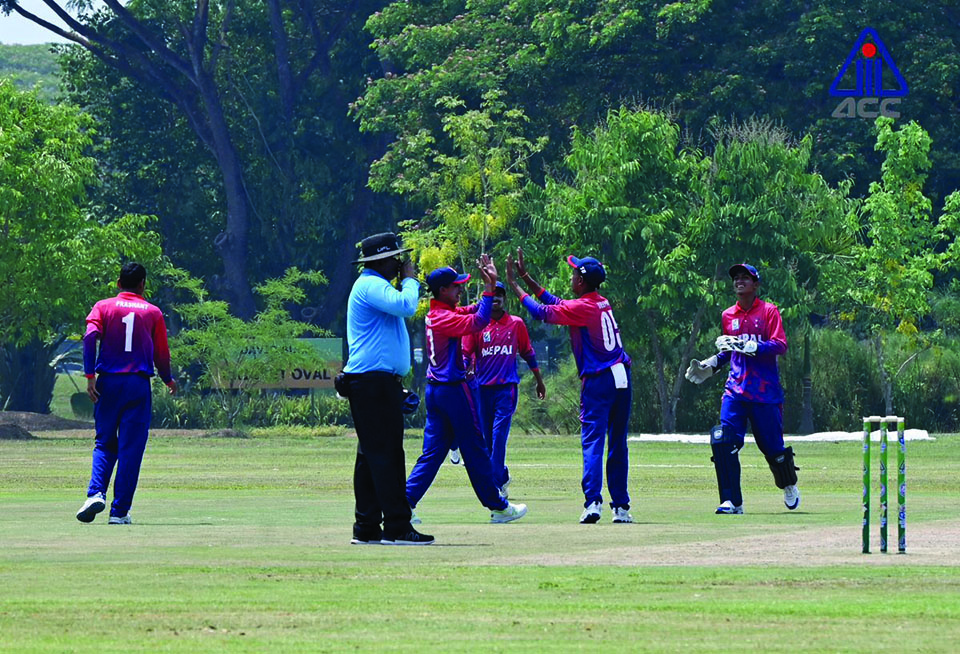 Nepal U-16 starts title defense with a win