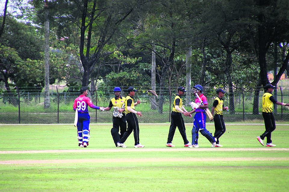 Nepal wins but UAE holds firm on qualification