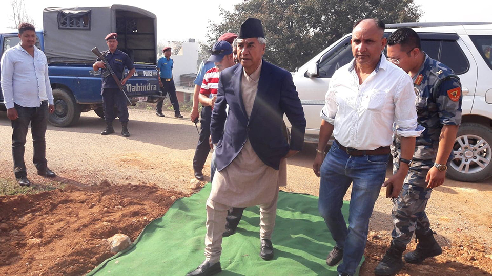 Government inviting violence by provoking CPN: Deuba