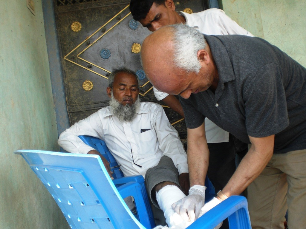 Dr KC in Bara canceling Africa relief trip