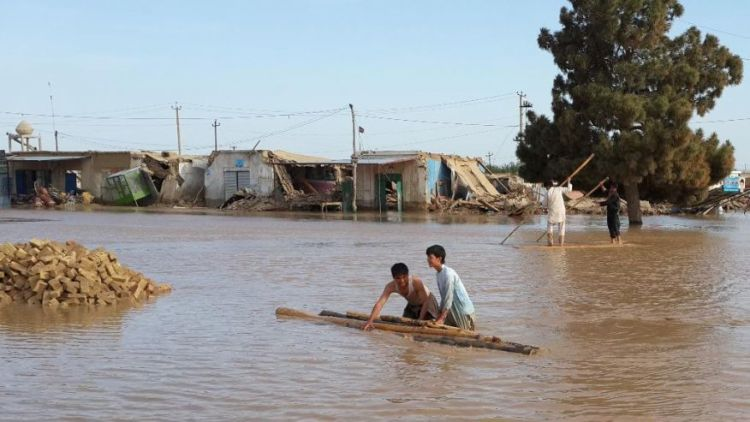 Floods kill 8 in Afghanistan's western Herat, northern Baghlan province