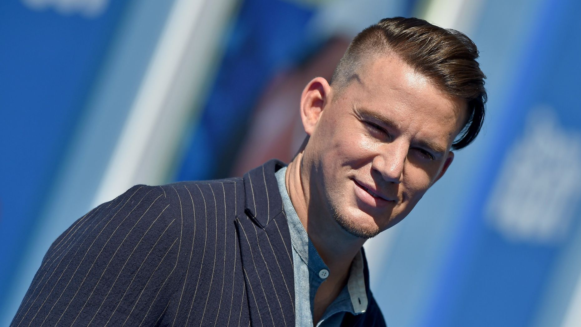 Actor Channing Tatum takes up art