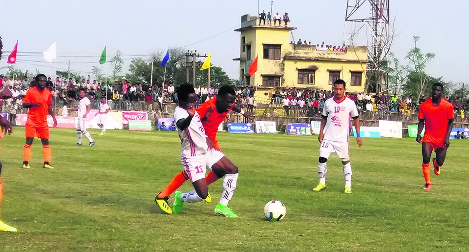 Dauphins beats Kakarbhitta to reach Duhabi final