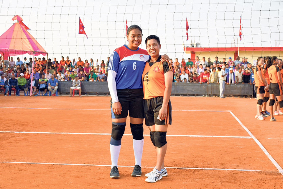 Adhikari embraces her new journey in volleyball