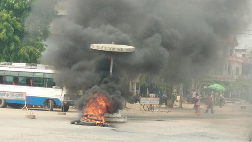 Locals protest after truck kills a woman
