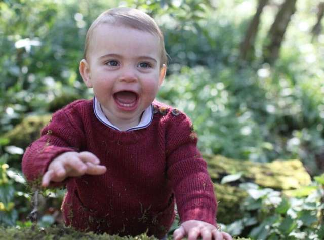 Prince William and Kate Middleton shares adorable pictures of son Prince Louis