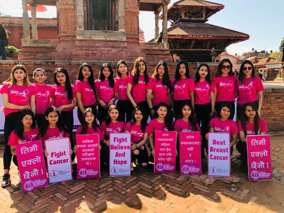 'Miss Nepal Peace' contestants spreading awareness on World Health Day