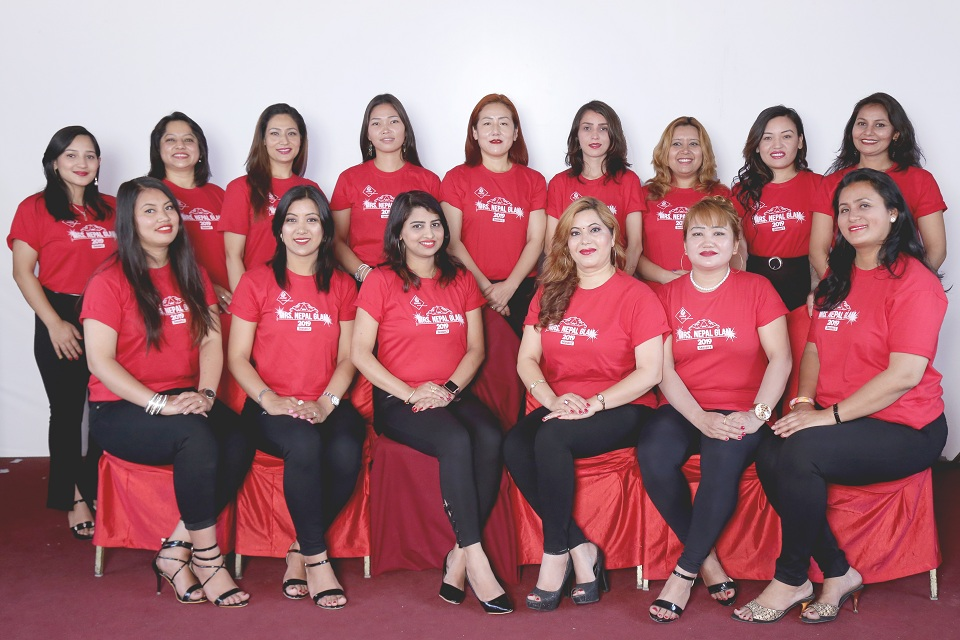 Gearing up for Mrs Nepal Glam 2019