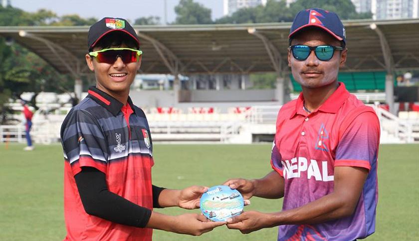 Nepal defeats Singapore by 218 runs