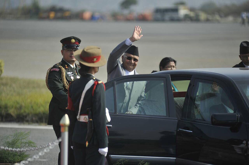 PM leaves for Vietnam, Cambodia