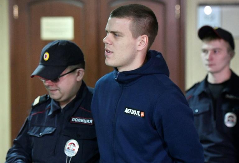 Assault trial of Russian footballers begins