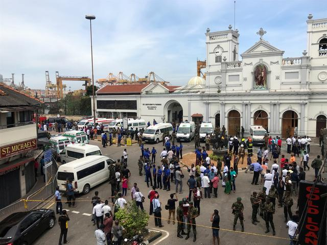 (Update) Blasts at Sri Lanka hotels and churches kill at least 160: Reports