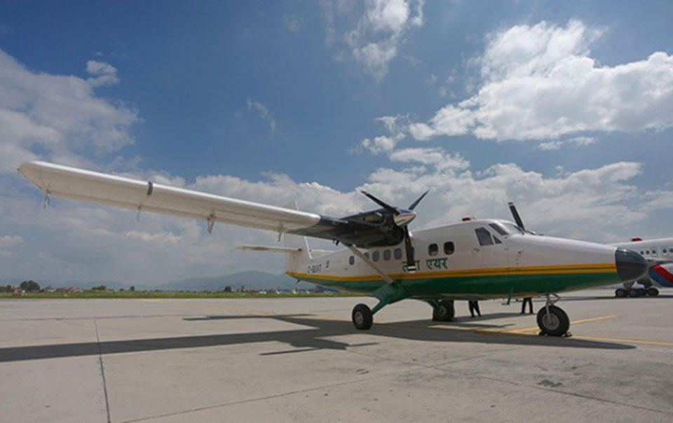 Tara Air aircraft skids off runway in Ramechhap, all passengers safe