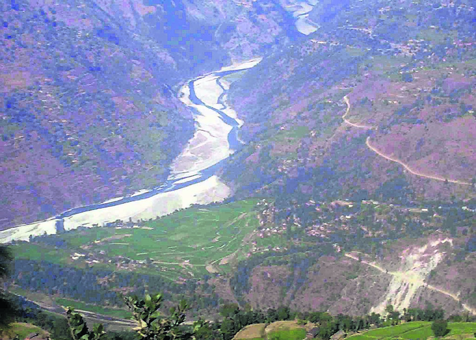 Dozens of micro hydro projects of Rukum under threat