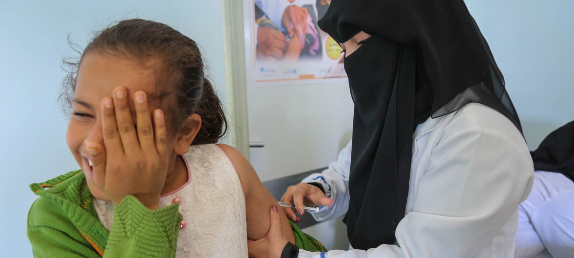 'Vaccines are safe' and save lives, UNICEF declares, launching new #VaccinesWork campaign