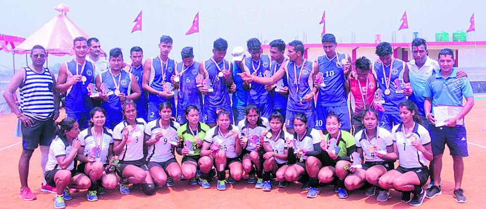 APF, Police win volleyball titles