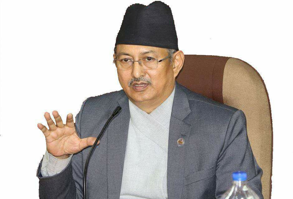 Home Minister Khand directs for safe rescue of Nepalis in Afghanistan