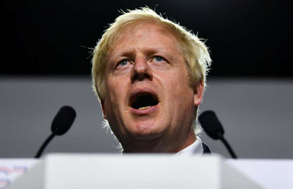 UK's Johnson plans to restrict parliament time before Brexit