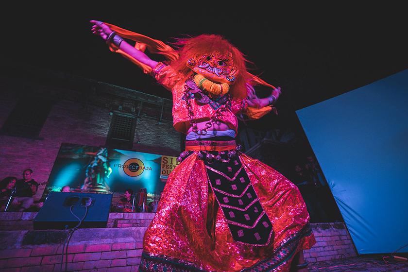 Celebrating the month of Gunla through cultural performances