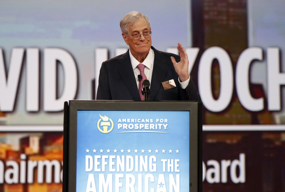 Billionaire David Koch, conservative donor, dies at age 79