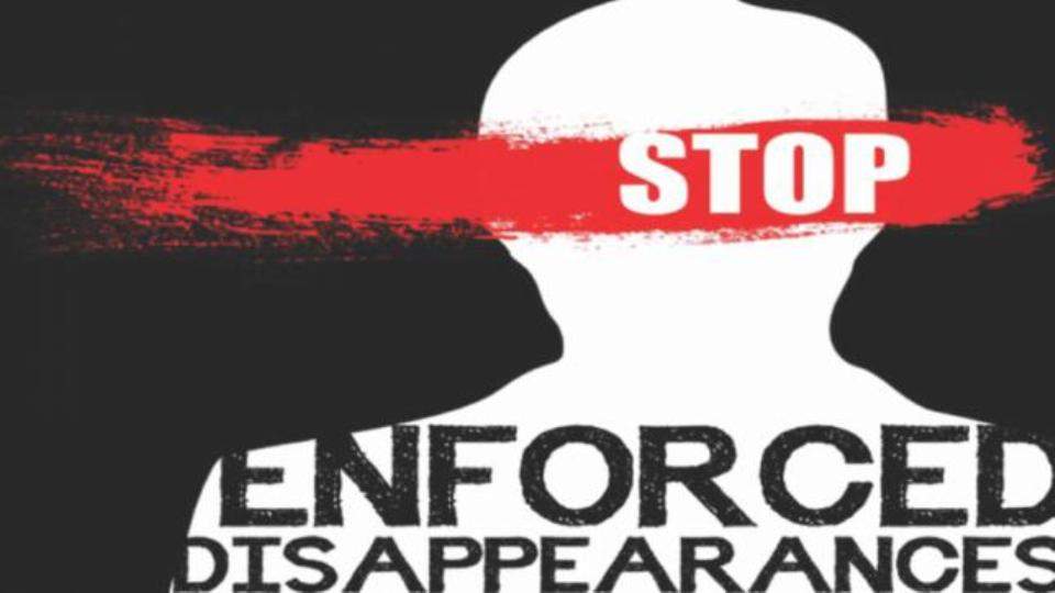 Human right watchdogs urge gov't to make status of enforced disappeared persons public