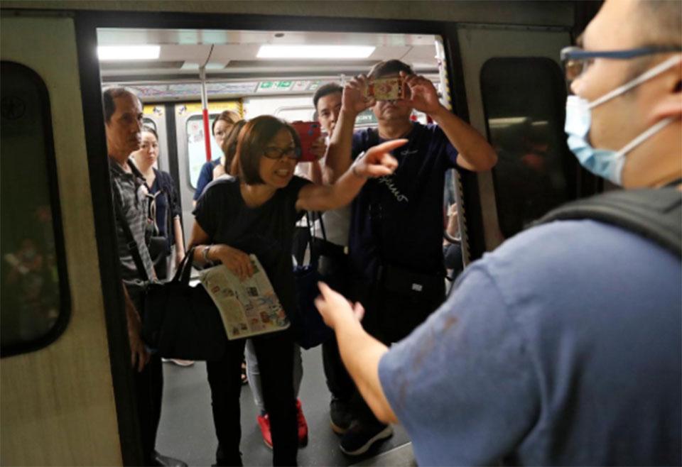 Strike grips Hong Kong as leader warns protests challenge China's sovereignty