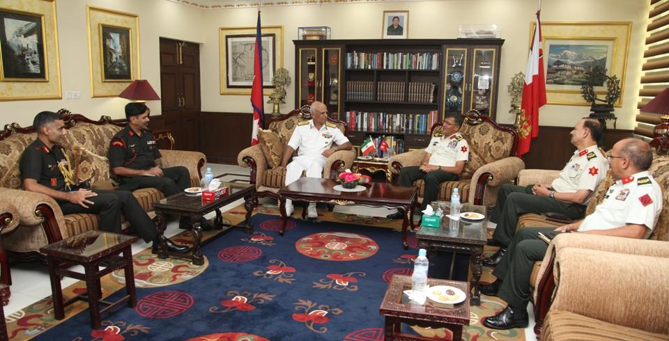 Indian NDC delegation visits Nepal