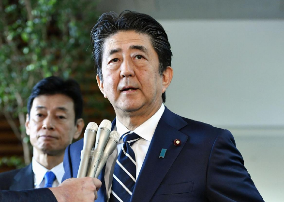 Japan PM reiterates that Tokyo wants South Korea to keep its promises, rebuild trust