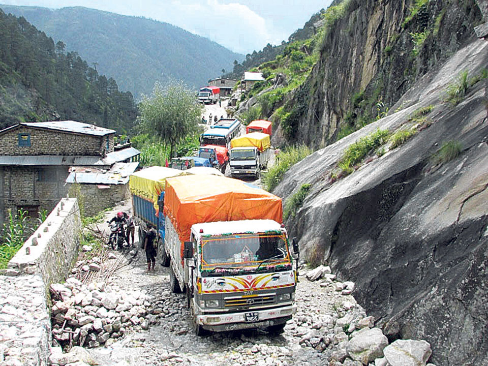 Karnali highway resumes after two days