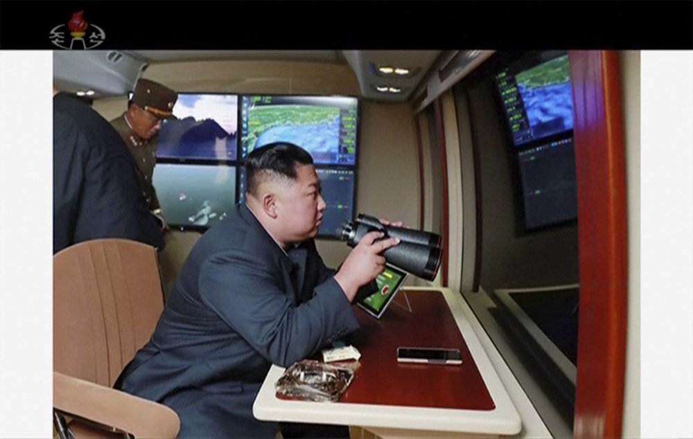 North Korea says Kim supervised latest rocket launcher test