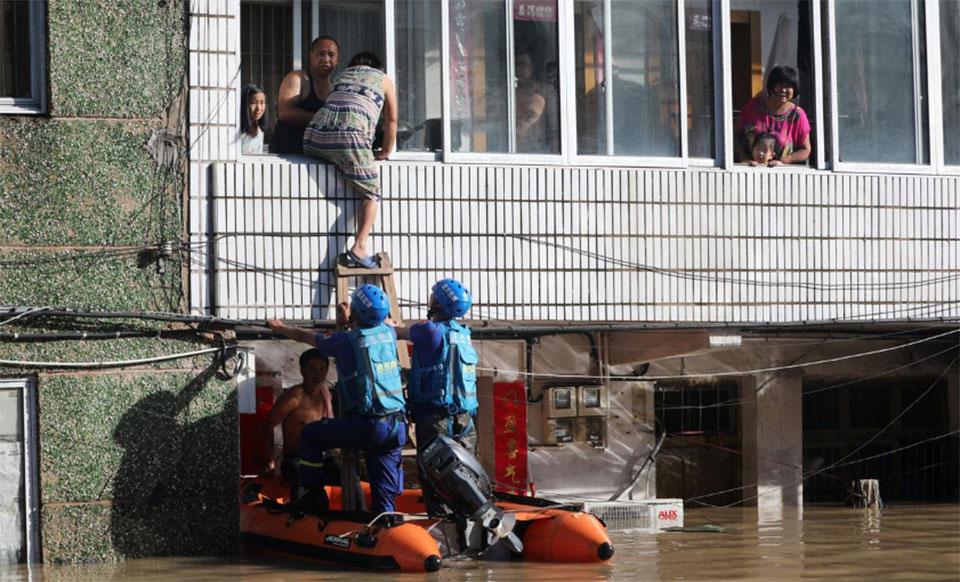 Death toll rises to 44 as typhoon Lekima wreaks havoc in eastern China