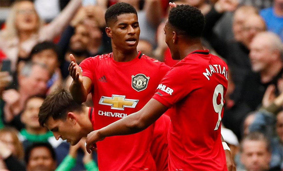 Rashford grabs brace as United put four past Lampard's Chelsea