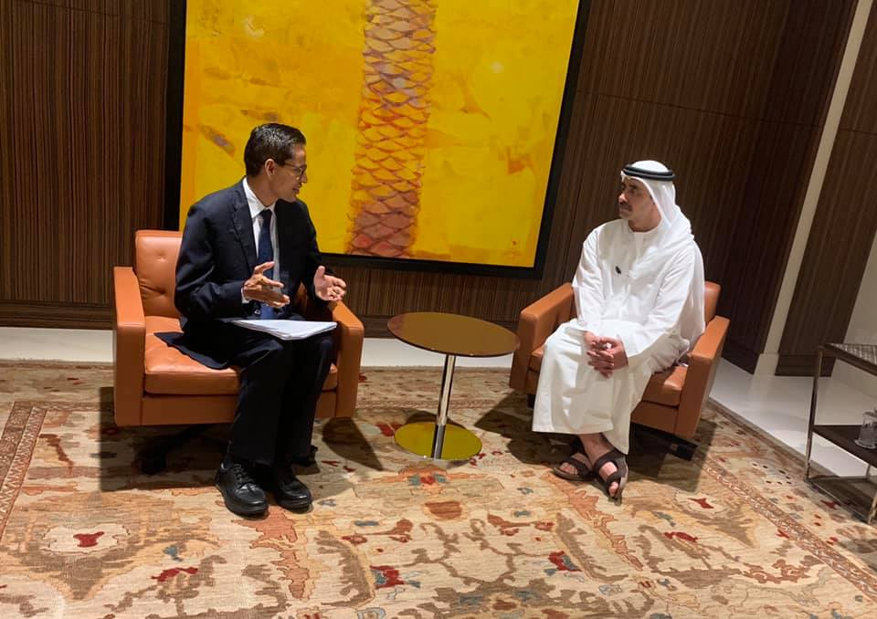 Nepali envoy calls on UAE foreign minister