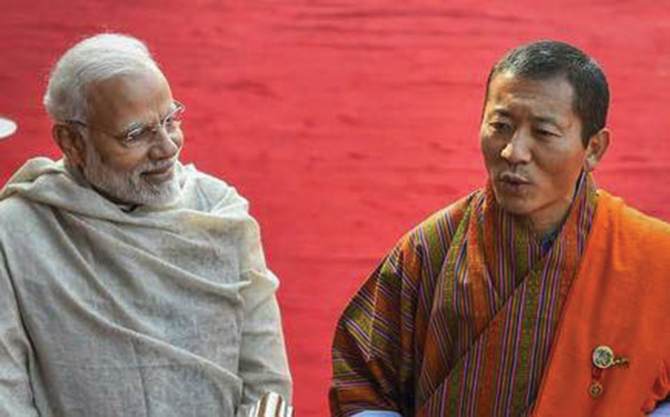 As Modi goes to Bhutan