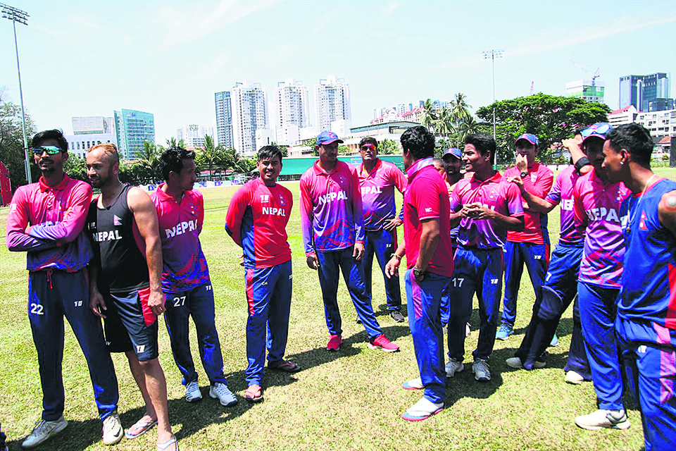 Nepal awaits ICC approval to feature in Oman's T20I series