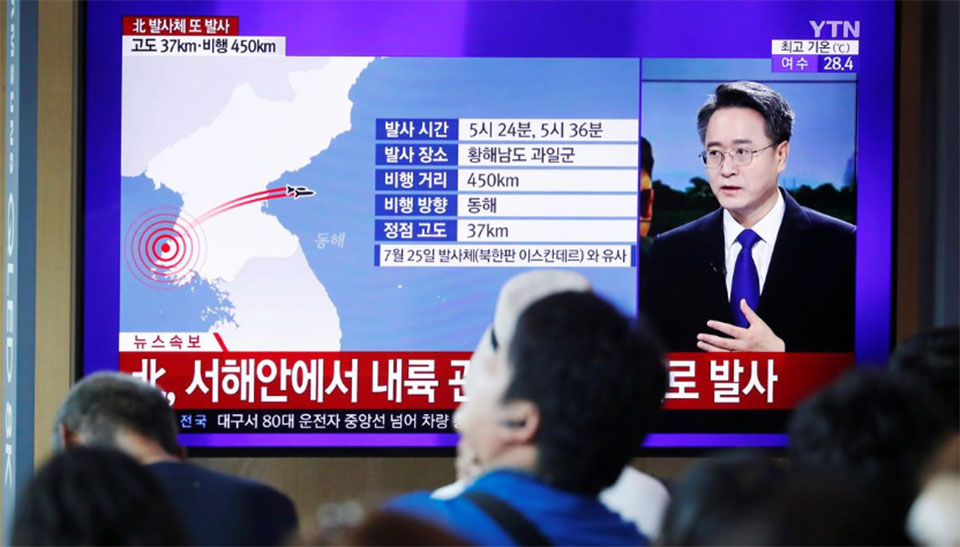 North Korea threatens to take 'new road', launches more missiles