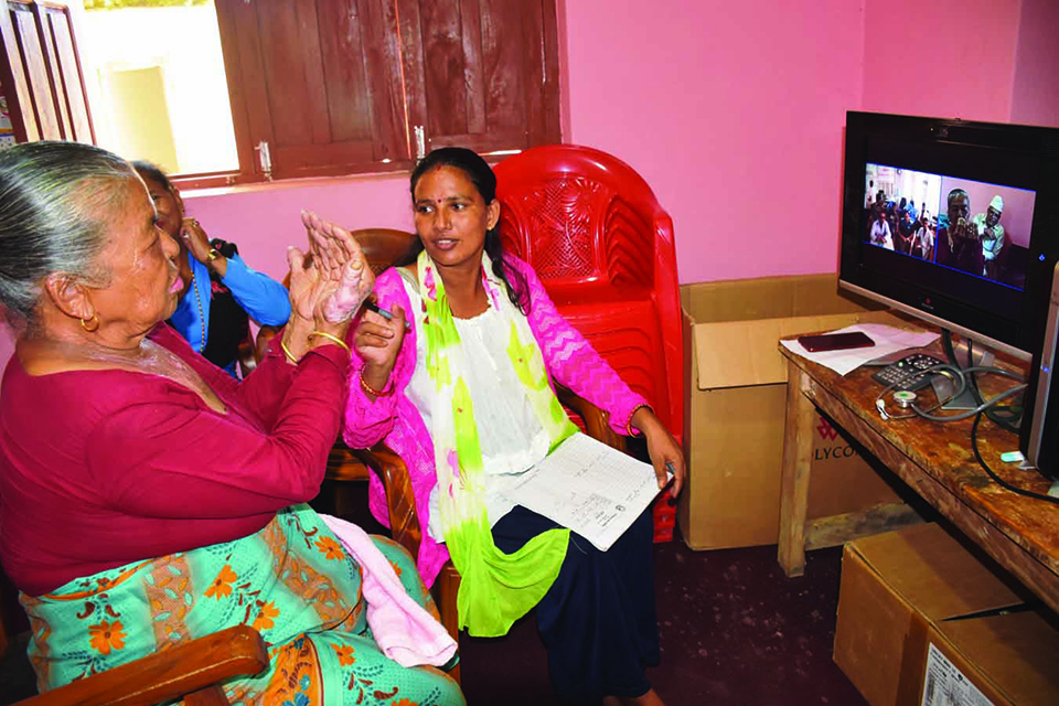Telemedicine service launched in Kavre