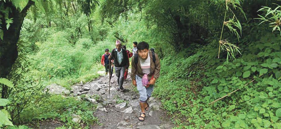 Domestic tourist inflow increases in Rasuwa