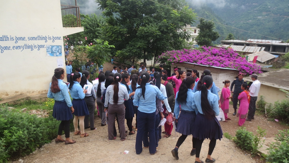 Students rarely pay attention to studies: Rolpali Teachers