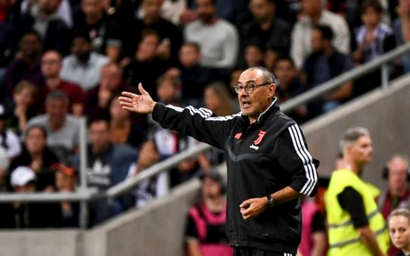Sarri hoping to make Juventus debut after pneumonia
